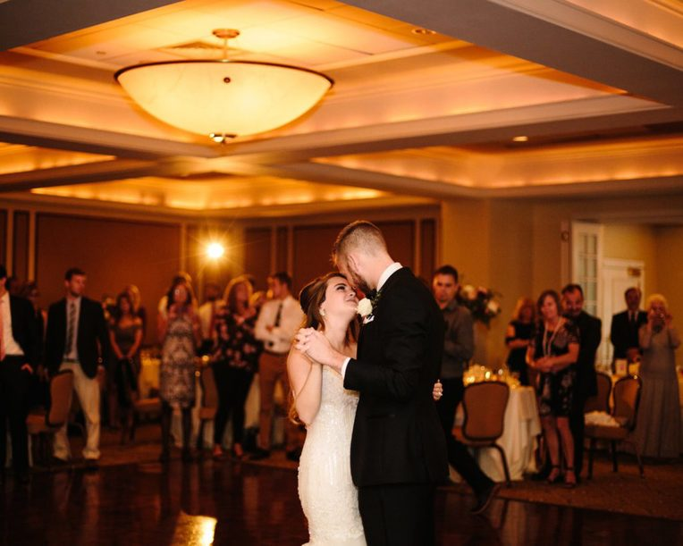 couple dance in the Ballroom at Radnor Valley Country Club